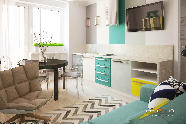 можно ли перенести кухню в комнату фото возвышенности